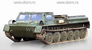 ГАЗ 71 ГТ СМ гусеничный транспортер - снегоболотоход модернизированный, поставщик ООО СКАРН